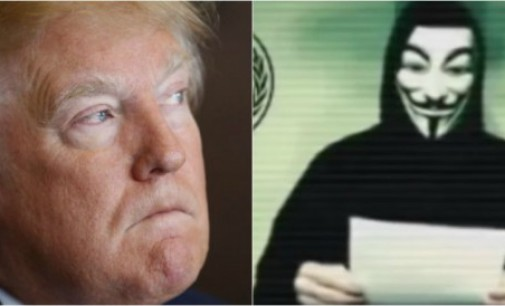 Anonymous lanza campaña contra Donald Trump